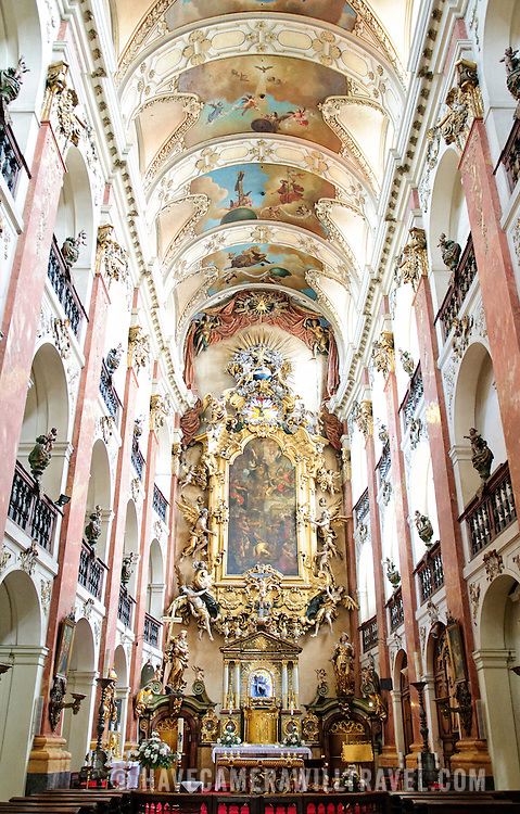 Lavish Cathedral in Prague