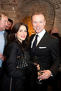 LAUREN KEMP; GARY KEMP, The launch party of HiBrow and A Mighty Big If. ÊThe Crypt. St. Martins in the Fields. London. 24 January 2012<br /> LAUREN KEMP; GARY KEMP, The launch party of HiBrow and A Mighty Big If. The Crypt. St. Martins in the Fields. London. 24 January 2012