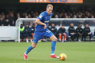 AFC Wimbledon midfielder Mitchell (Mitch) Pinnock (11) dribbling during the EFL Sky Bet League 1 match between AFC Wimbledon and Southend United at the Cherry Red Records Stadium, Kingston, England on 24 November 2018.