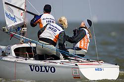 08_002678 © Sander van der Borch. Medemblik - The Netherlands,  May 24th 2008 . Day 4 of the Delta Lloyd Regatta 2008.