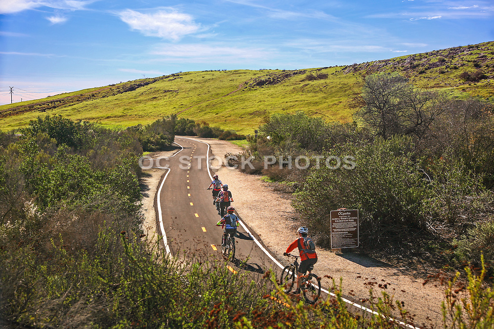 Mountain Biking Along Aliso and Wood Canyons Wilderness Park