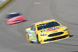 March 4, 2018 - Las Vegas, Nevada, U.S. - LAS VEGAS, NV - MARCH 04: Ryan Blaney (12) Team Penske Ford Fusion during the Pennzoil 400 Monster Energy NASCAR Cup Series race on March 4, 2018, at Las Vegas Motor Speedway in Las Vegas, NV.   (Photo by Michael Allio/Icon Sportswire) (Credit Image: © Michael Allio/Icon SMI via ZUMA Press)