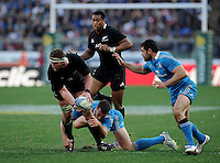 Rome, Italy -In the photo Read in advanced during .Olympic stadium in Rome Rugby test match Cariparma.Italy vs New Zealand (All Blacks). (Credit Image: © Gilberto Carbonari).