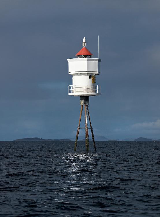 Norway - Lighthouse in ocean