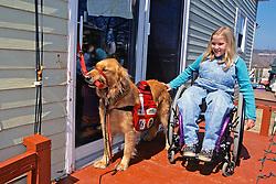 Allie Opening Door For Sarah Cushna