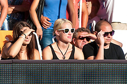 Fans at Beach Volleyball Challenge Ljubljana 2014, on August 1, 2014 in Kongresni trg, Ljubljana, Slovenia. Photo by Matic Klansek Velej / Sportida.com