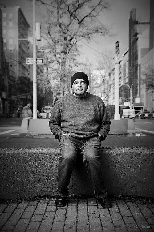 Poet Shane McCrae in New York by photographer Dan Callister