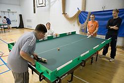 Boys playing Polybat,