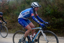 at Strade Bianche - Elite Women 2018 - a 136 km road race on March 3, 2018, starting and finishing in Siena, Italy. (Photo by Sean Robinson/Velofocus.com)