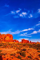 Arches National Park, near Moab, Utah USA