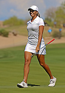 20 MAR15 Royal Rookie Cheyenne Woods during Friday's Second Round of the JTBC Founder's Cup at The Wildfire Golf Club in Scottsdale, Arizona. (photo credit : kenneth e. dennis/kendennisphoto.com)
