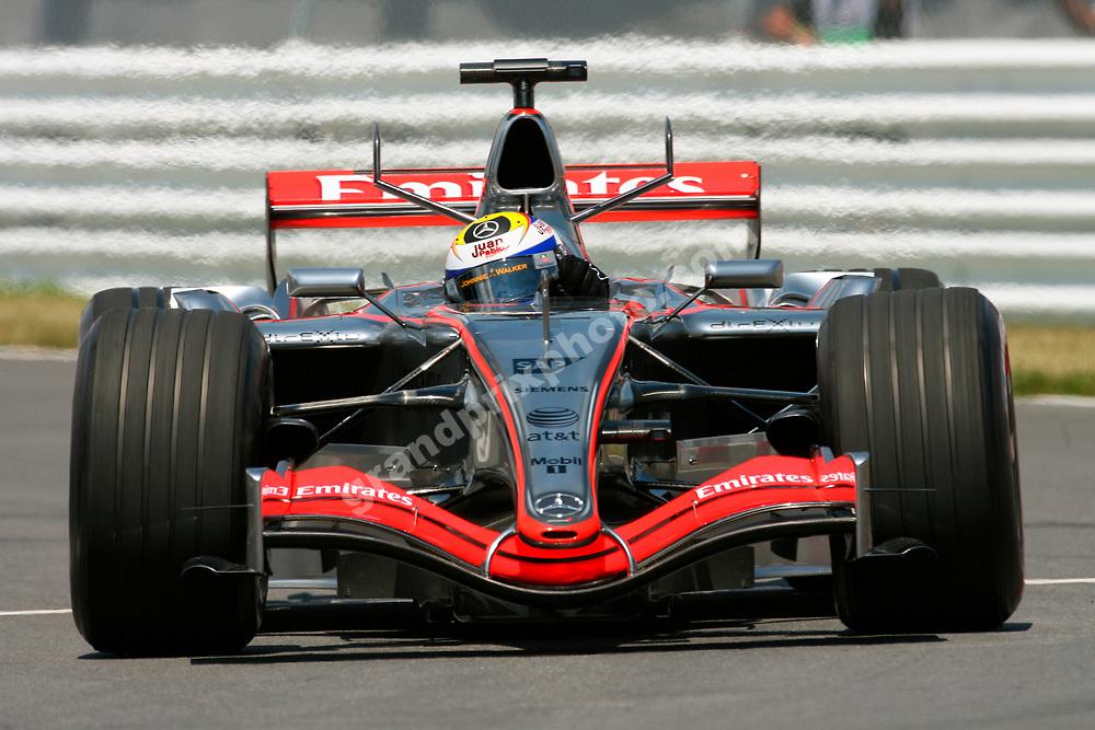 Juan-Pablo Montoya (McLaren-Mercedes) during qualifying for the 2006 Canadian Grand Prix at the Circuit Gilles Villeneuve in Montreal. Photo: Grand Prix Photo