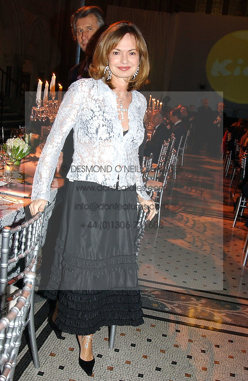 COUNTESS MAYA VON SCHONBURG at The Magic of Winter ball in aid of the charity KIDS held at The Royal Courts of Justice, London on 2nd Ferbruary 2005.<br /><br />NON EXCLUSIVE - WORLD RIGHTS
