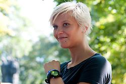 Katja Koren at Mercator izziv, on August 19, 2011, on Ljubljanski grad, Ljubljana, Slovenia (Photo by Matic Klansek Velej / Sportida)