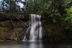 Upper North Falls, Silver Falls State Park, Oregon, US