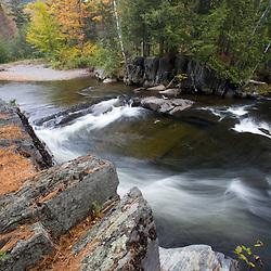 Fall on Big Wilson Stream in Elliotsville, Maine.
