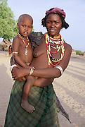 Africa, Ethiopia, Omo valley, the Arbore tribe