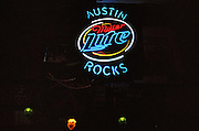 A road trip through Texas, Austin, downtown, in a bar