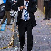NLD/Laren/20130102 - Uitvaart John de Mol Sr., Willem van Kooten