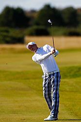 04.10.2012, Old Course, St. Andrews, SCO, European Golf Tour, Alfred Dunhill Links Championship, im Bild Marcel Siem (GER) // during the European Golf Tour, Alfred Dunhill Links Championship at the Old Course, St. Andrews, Scotland on 2012/10/04. EXPA Pictures © 2012, PhotoCredit: EXPA/ Mitchell Gunn