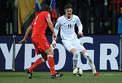 Milivoje Novakovic of Slovenia at the 8th day qualification game of 2010 FIFA WORLD CUP SOUTH AFRICA in Group 3 between Slovenia and Czech Republic at Stadion Ljudski vrt, on March 28, 2008, in Maribor, Slovenia. Slovenia vs Czech Republic 0 : 0. (Photo by Vid Ponikvar / Sportida)