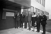 2/7/1964<br /> 7/2/1964<br /> 2 July 1964<br /> <br /> An Taoiseach Mr. Sean Lemass officially unveiling a plaque to commemorate the opening watched by Lord Elveden Managing Director, Dr. C.K. Mills Director, Lord Boyd Director, Lady Elveden, Dr. A.K. Mills Chief Chemist and Lord Mayne