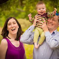 Heather, Wim and Branwen Family Portraits Santa Barbara