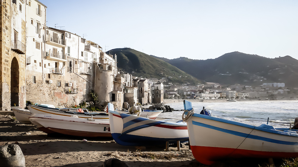 """The medieval town in the northern side of Sicily is paradise for many tourists every year during the summer. """"Of Greek foundation, the city evidently derived its name from its situation on a lofty and precipitous rock, forming a bold headland (Κεφαλὴ) projecting into the sea."""" source: Wikipedia"""