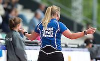 Rotterdam - InScheidsrechters  voor het Jeugd Sport Fonds tijdens de Rabobank World Hockey League. Foto KOEN SUYK Rotterdam - Scheidsrechters  voor het Jeugd Sport Fonds tijdens de Rabobank World Hockey League. Foto KOEN SUYK