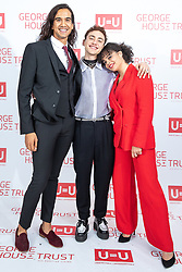 """© Licensed to London News Pictures. 26/10/2019. Salford, UK. Actor and Years & Years musician OLLY ALEXANDER and cast members from upcoming Russell T Davies drama """" Boys """" attend the George House Trust charity fundraising gala at the Lowry Hotel . The George House Trust provides support for those living with and affected by HIV . Photo credit: Joel Goodman/LNP"""