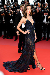 Alessandra Ambrosio attending the Solo: A Star Wars Story premiere at the 71st Cannes Film Festival