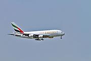 Emirates Airbus A380-861 at Milan - Malpensa (MXP / LIMC) Italy