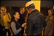ZOE DEVLIN; PAUL SIMONON , Private view, Paul Simonon- Wot no Bike, ICA Nash and Brandon Rooms, London. 20 January 2015