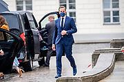 BERLIJN, 05-07-2021, Schloss Bellevue<br /> <br /> Koning Willem Alexander en Koningin Maxima tijdens het Staatsbezoek aan Duitsland. Het bezoek aan Berlijn vormt de afronding van een reeks deelstaatbezoeken die het Koninklijk Paar sinds 2013 aan Duitsland heeft gebracht. <br /> <br /> King Willem Alexander and Queen Maxima during the state visit to Germany. The visit to Berlin concludes a series of state visits that the Royal Couple has made to Germany since 2013. FOTO: Brunopress/Patrick van Emst<br /> <br /> Op de foto / On the photo: Ontvangst en welkomstceremonie bij Schloss Bellevue, de ambtswoning van de bondspresident / Reception and welcome ceremony at Schloss Bellevue, the official residence of the Federal President