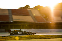 February 20, 2019 - Barcelona, Spain - GROSJEAN Romain (fra), Haas F1 Team VF-19 Ferrari, action during Formula 1 winter tests from February 18 to 21, 2019 at Barcelona, Spain - Photo  /  Motorsports: FIA Formula One World Championship 2019, Test in Barcelona, (Credit Image: © Hoch Zwei via ZUMA Wire)