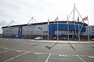 a General view of outside the Madejski Stadium before k/o. EFL Skybet  championship match, Reading  v Huddersfield Town at The Madejski Stadium in Reading, Berkshire on Saturday 24th September 2016.<br /> pic by John Patrick Fletcher, Andrew Orchard sports photography.