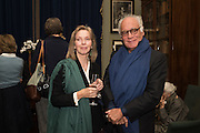 LADY GOWRIE; JOHN STEFANIDES, Everyman 25th Anniversary party, Spencer House. St. James' Place. London. SW1. 26 October 2016