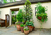 Mansion courtyard, Chanticleer Gardens, Wayne, PA