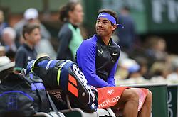 June 7, 2017 - Roland Garros Porte D Auteuil, France - 11e  journee : Rafael Nadal (Credit Image: © Panoramic via ZUMA Press)