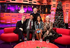 London - Filming Of Graham Norton Talk Show - 14 Dec 2016