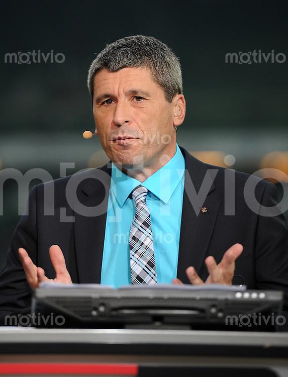 FUSSBALL   1. BUNDESLIGA    SAISON 2012/2013    8. Spieltag   SV Werder Bremen - Borussia Moenchengladbach  20.10.2012 TV Experte Markus Merk