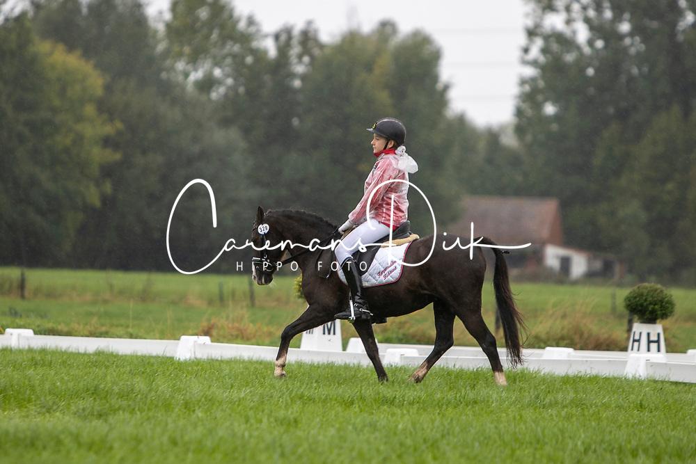 Laenen Gitte, BEL, Vera<br /> Nationaal Kampioenschap LRV <br /> Ponies Dressuur - Oudenaarde 2020<br /> © Hippo Foto - Dirk Caremans<br /> 03/10/2020