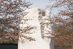 The Martin Luther King Memorial in Washington DC in the United States. From a series of travel photos in the United States. Photo date: Thursday, March 29, 2018. Photo credit should read: Richard Gray/EMPICS