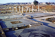 View of the archaeological remains at Pella, birthplace of Alexander the Great (156-323 BC), Alexander III of Macedon.