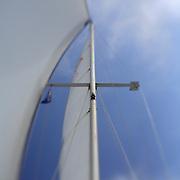 Sailboat Mast - Newport Beach, CA - Lensbaby