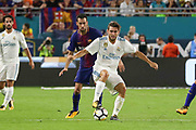 Real Madrid Midfielder Mateo Kovacic during the International Champions Cup match between Real Madrid and FC Barcelona at the Hard Rock Stadium, Miami on 29 July 2017.