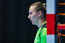 Amra Pandzic of Slovenia in action during the Women's friendly match between Netherlands and Slovenia at De Maaspoort on march 19, 2021 in Den Bosch, Netherlands (Photo by RHF Agency/Ronald Hoogendoorn)