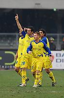 "Gennardo Sardo esultanza 1-0<br /> Verona, 17/01/2010 Stadio ""Bentegodi""<br /> Chievo-Juventus<br /> Campionato Italiano Serie A 2009/2010<br /> Foto Nicolò Zangirolami Insidefoto"