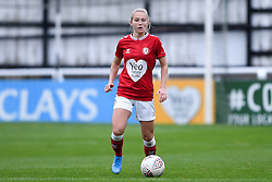 Jemma Purfield of Bristol City Women - Mandatory by-line: Ryan Hiscott/JMP - 18/10/2020 - FOOTBALL - Twerton Park - Bath, England - Bristol City Women v Birmingham City Women - Barclays FA Women's Super League