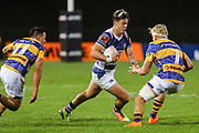 Auckland player AJ Lam heads for the line against Bay of Plenty during the Mitre 10 Cup match played at Rotorua International Stadium in Rotorua on Friday 2nd October 2020.<br /> Copyright photo: Alan Gibson / www.photosport.nz